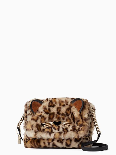 Kate Spade Run Wild Leopard-print Muff, Leopard