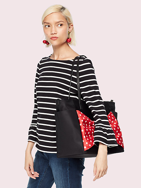 kate spade new york for minnie mouse betheny baby bag by kate spade new york