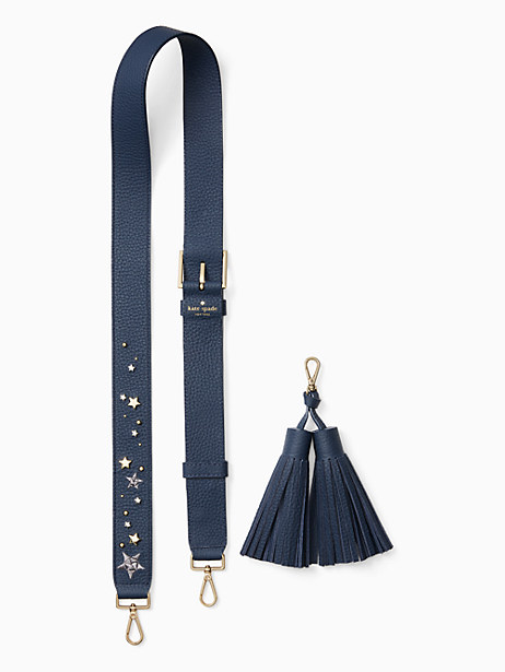 make it mine cascade star strap/tassel pack by kate spade new york