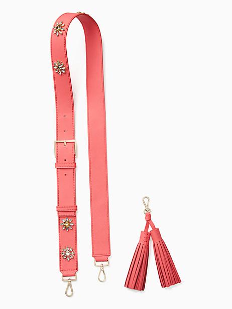make it mine crystal flowers strap / tassel pack by kate spade new york