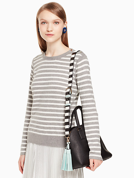 make it mine stripe strap/tassel pack by kate spade new york