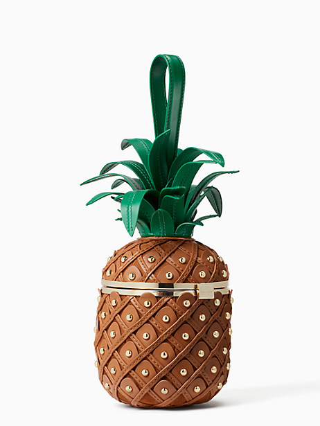 Kate Spade by the pool 3D pineapple, Wood