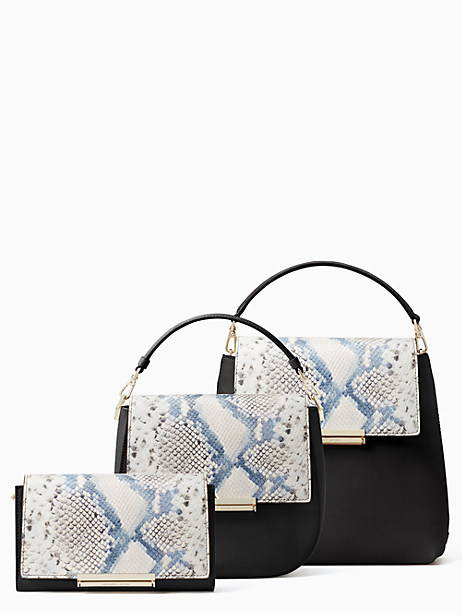 make it mine snake-embossed flap by kate spade new york