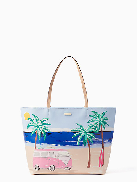 Kate Spade California Dreaming Beach Scene Hallie