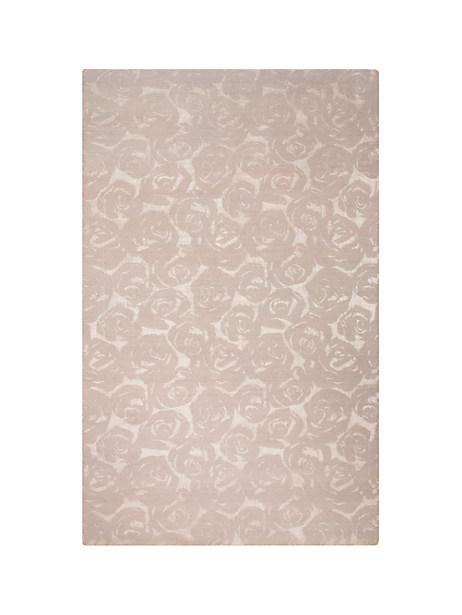 Kate Spade Mini Rose Garden Rug, Platinum - Size 9'X12'