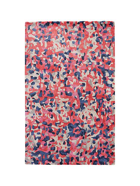 Kate Spade Splatter Paint Rug, Size 5'X8'