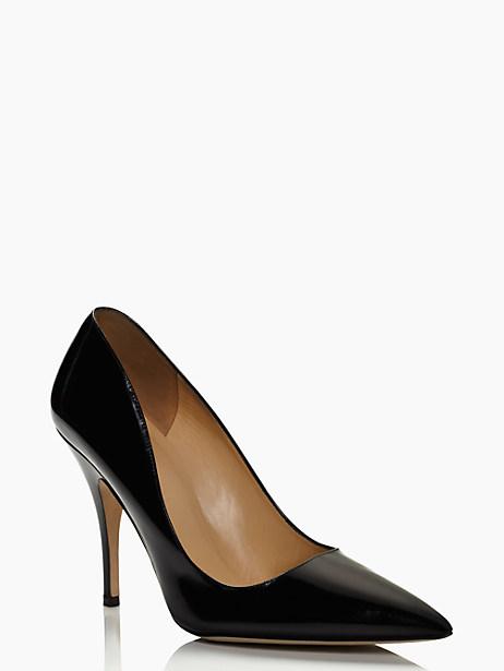 licorice heels, black