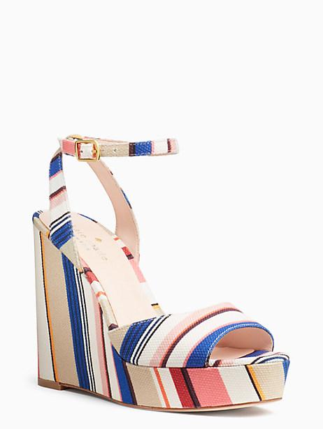 Kate Spade Dellie Wedges, Color - Size 10