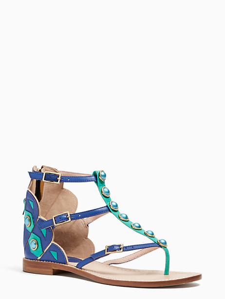 Kate Spade Soto Sandals, Cobalt - Size 10