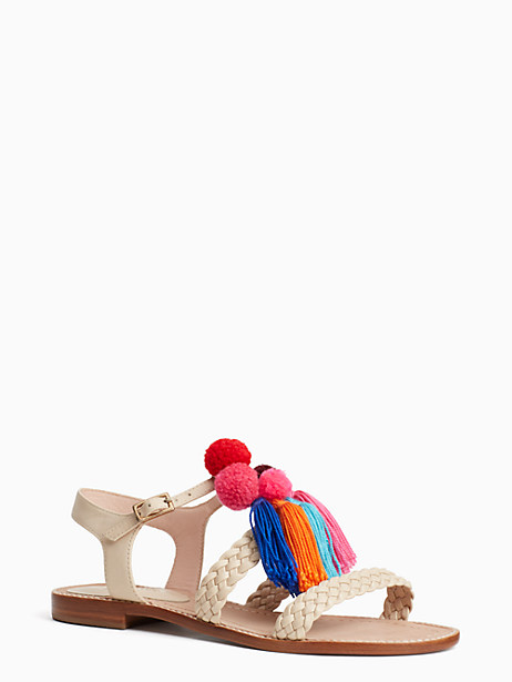 Kate Spade Sunset Sandals, Sand - Size 10