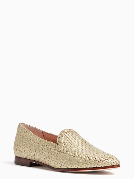 Kate Spade Caylee Flats, Old Gold - Size 10