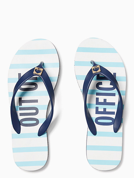 Kate Spade Out Of Office Flip Flops, Out of Office - Size 10