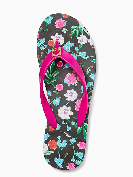 Kate Spade Ditzy Floral Flip Flops, Ditzy Floral Print - Size 10