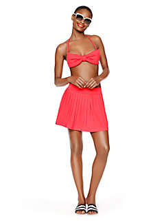 georgica beach pleated cover up by kate spade new york