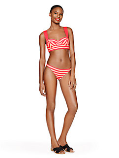 georgica beach stripe classic bottom by kate spade new york