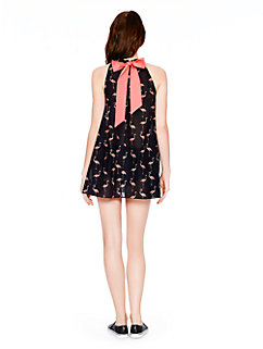 playa flamingo adjustable cover up dress by kate spade new york