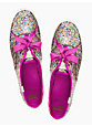 keds for kate spade new york glitter sneakers, multi gold glitter