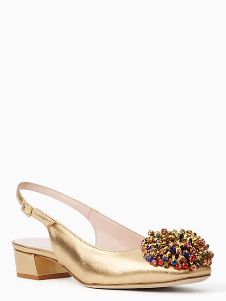 maren heels, old gold