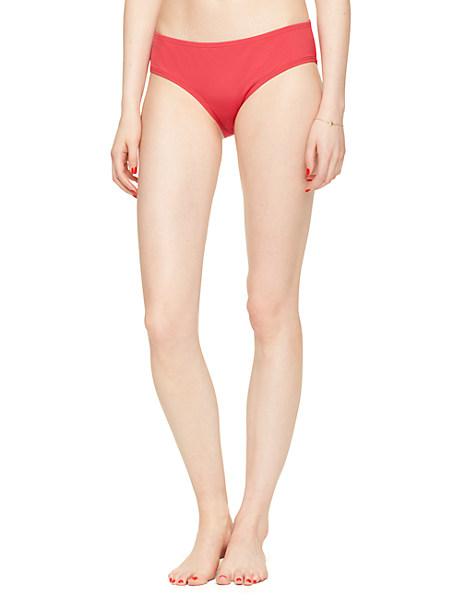 Kate Spade Playa De Palma Hipster Bottom, Posy Red - Size L