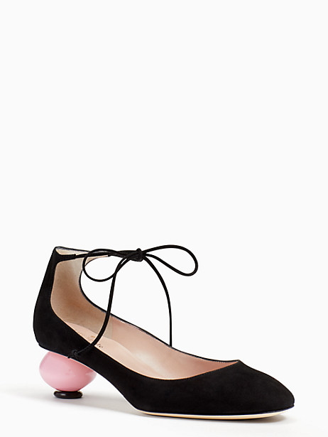 Kate Spade Olana Heels, Black - Size 7.5