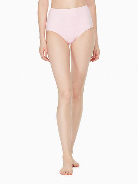 Kate Spade Plage Du Midi High Waist Bikini Bottom, Blossom - Size L