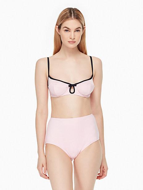 Kate Spade Plage Du Midi Bikini Top, Blossom - Size L