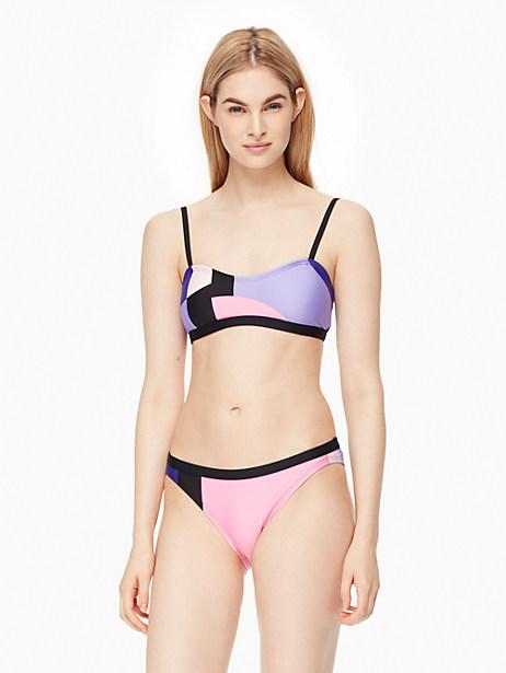 Kate Spade Gulf Breeze Cami Bikini Top, Black - Size L