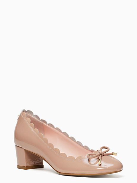 Kate Spade Yasmin Heels, Fawn - Size 6