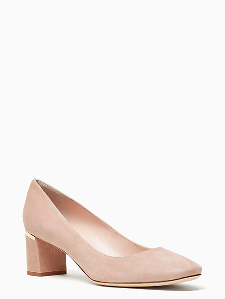 Kate Spade Dolores Too Heels, Fawn - Size 9.5