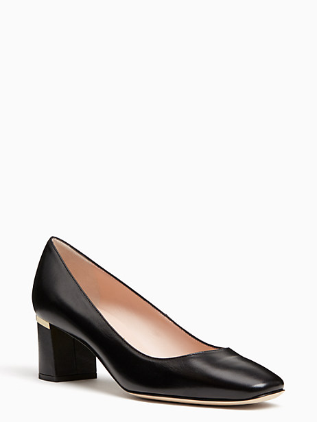 Kate Spade Dolores Too Heels, Black - Size 7