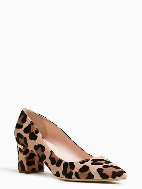 Kate Spade Milan Too Heels, Amaretto\Black - Size 7.5