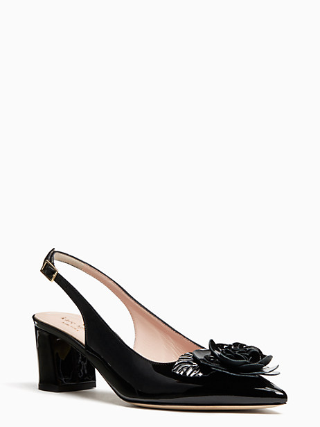 mercer heels, black