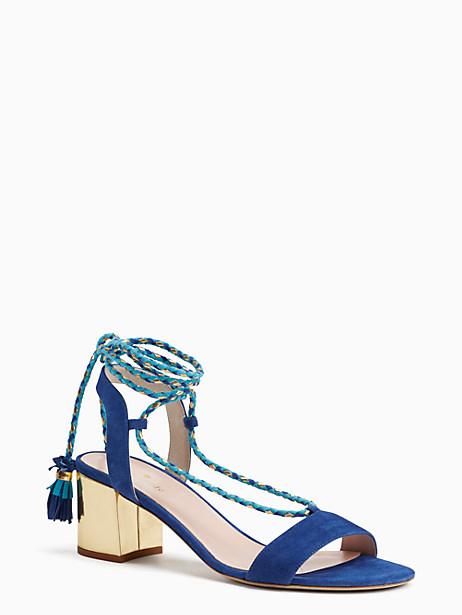 Kate Spade Manor Heels, Cobalt - Size 10