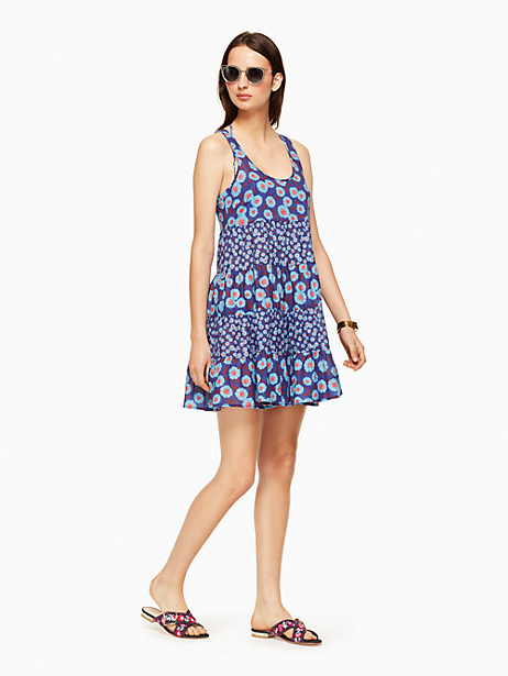 Kate Spade Tangier Beach Cover Up, Cobalt - Size L