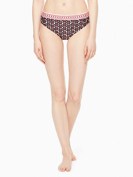 Kate Spade Coronado Beach Hipster Bikini Bottom, Sumac Red - Size XL