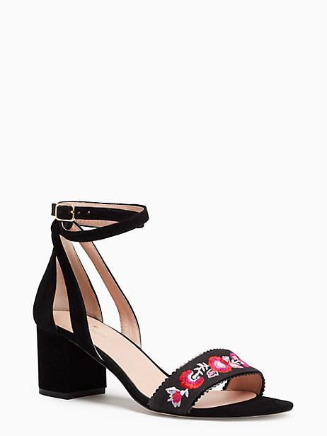 Kate Spade Watson Heels, Black - Size 10