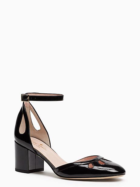 Kate Spade Gibson Heels, Black - Size 10