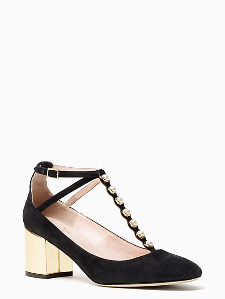 Kate Spade Galewood Heels, Black - Size 9.5