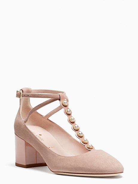 Kate Spade Galewood Heels, Fawn - Size 7.5