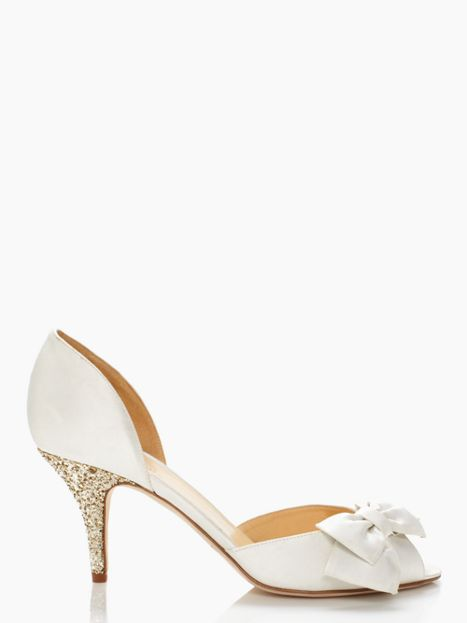 Wedding wednesday kate spade wedding shoes shop girl daily kate spade shalyn heel junglespirit Images