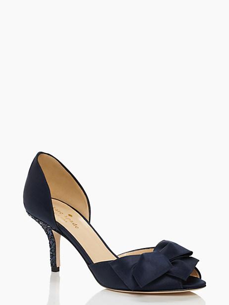 sala heels, navy