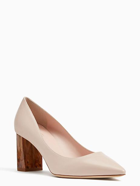 julissa heels, pale blush