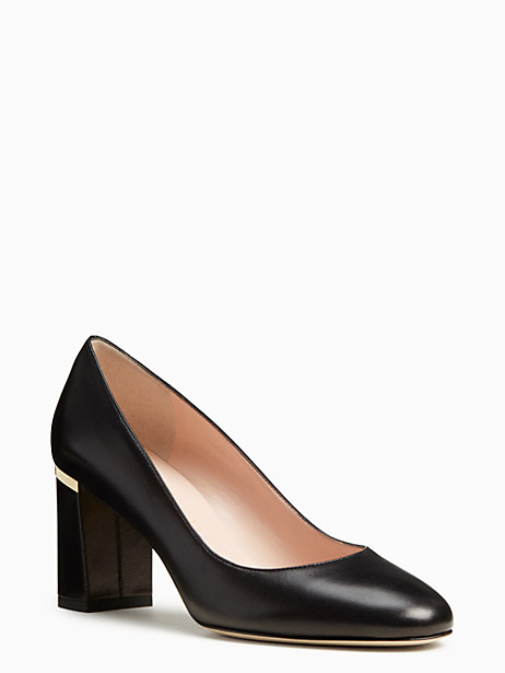 Kate Spade Alamar Heels, Black - Size 6