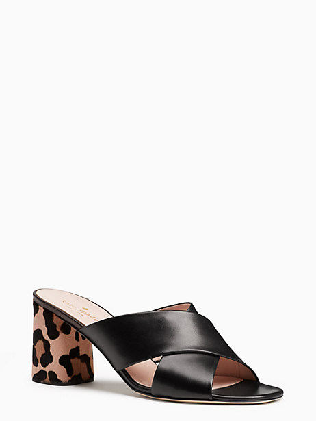 Kate Spade Denault Heels, Black - Size 10