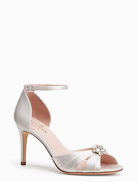 medina heels, ivory