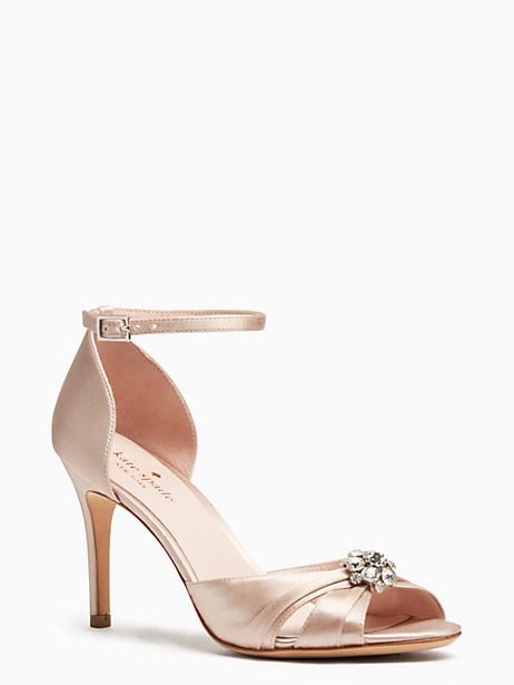 medina heels, pink champagne