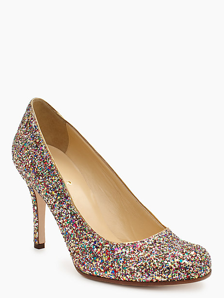 Kate Spade KAROLINA heels, Glitter - Size 6.5