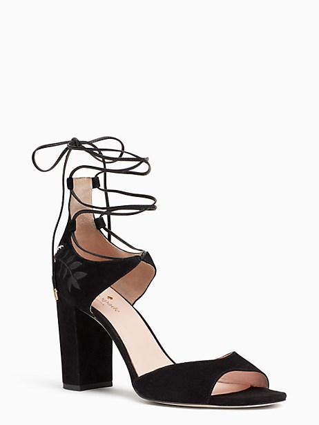 Kate Spade Oasis Heels, Black - Size 10