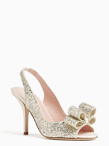 charm heels, crystal