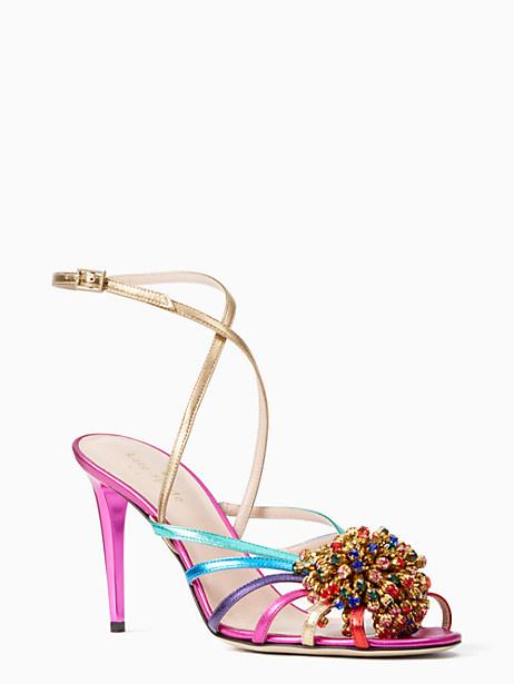 isabella heels, fuschia